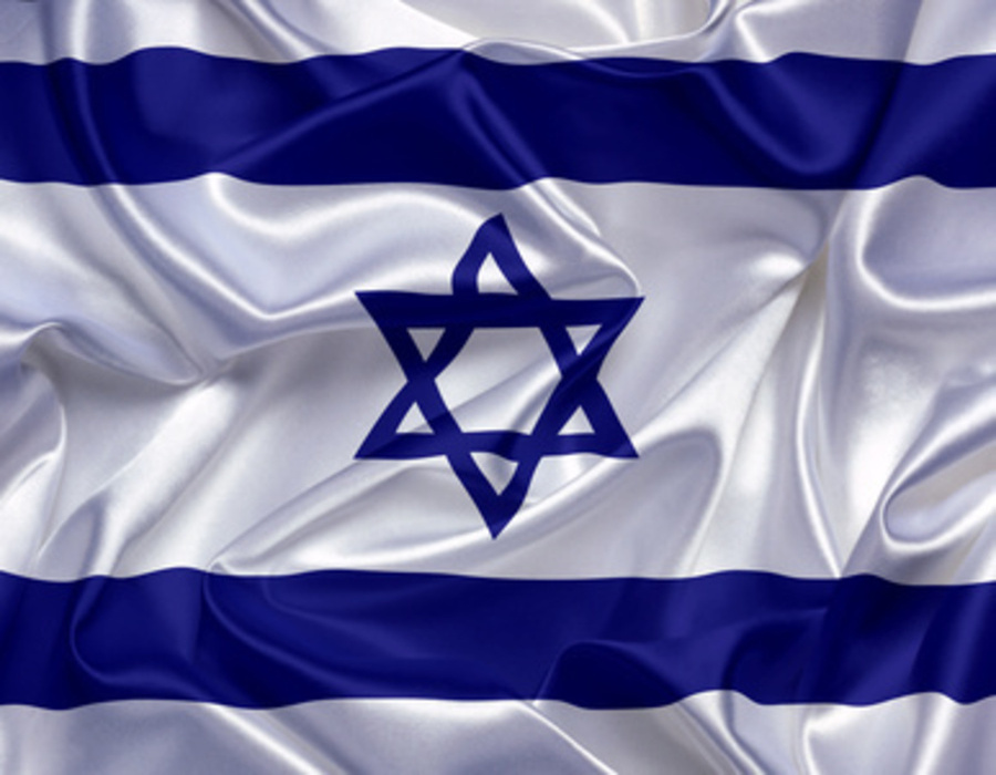 Israel flag 3D-HD 1
