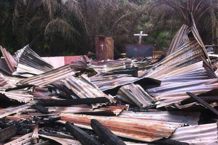 biserica daramate indonezia