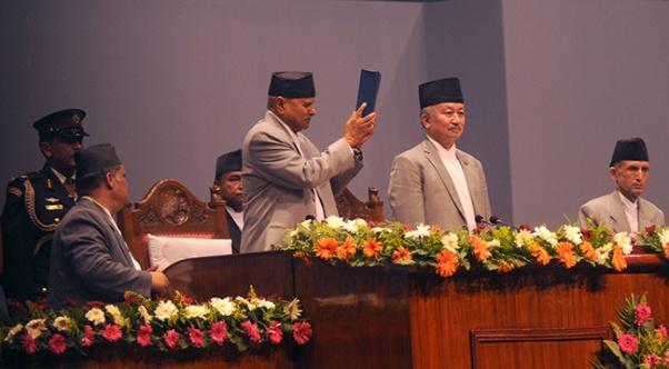 constitution nepal