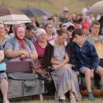 Evanghelizare în satul Colibași