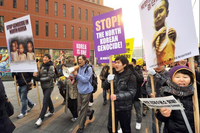 Creștinii din Coreea de Sud susțin frații de credință prin proteste pașnice
