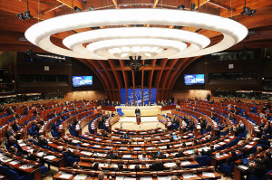 General view of the Council of Europe pa